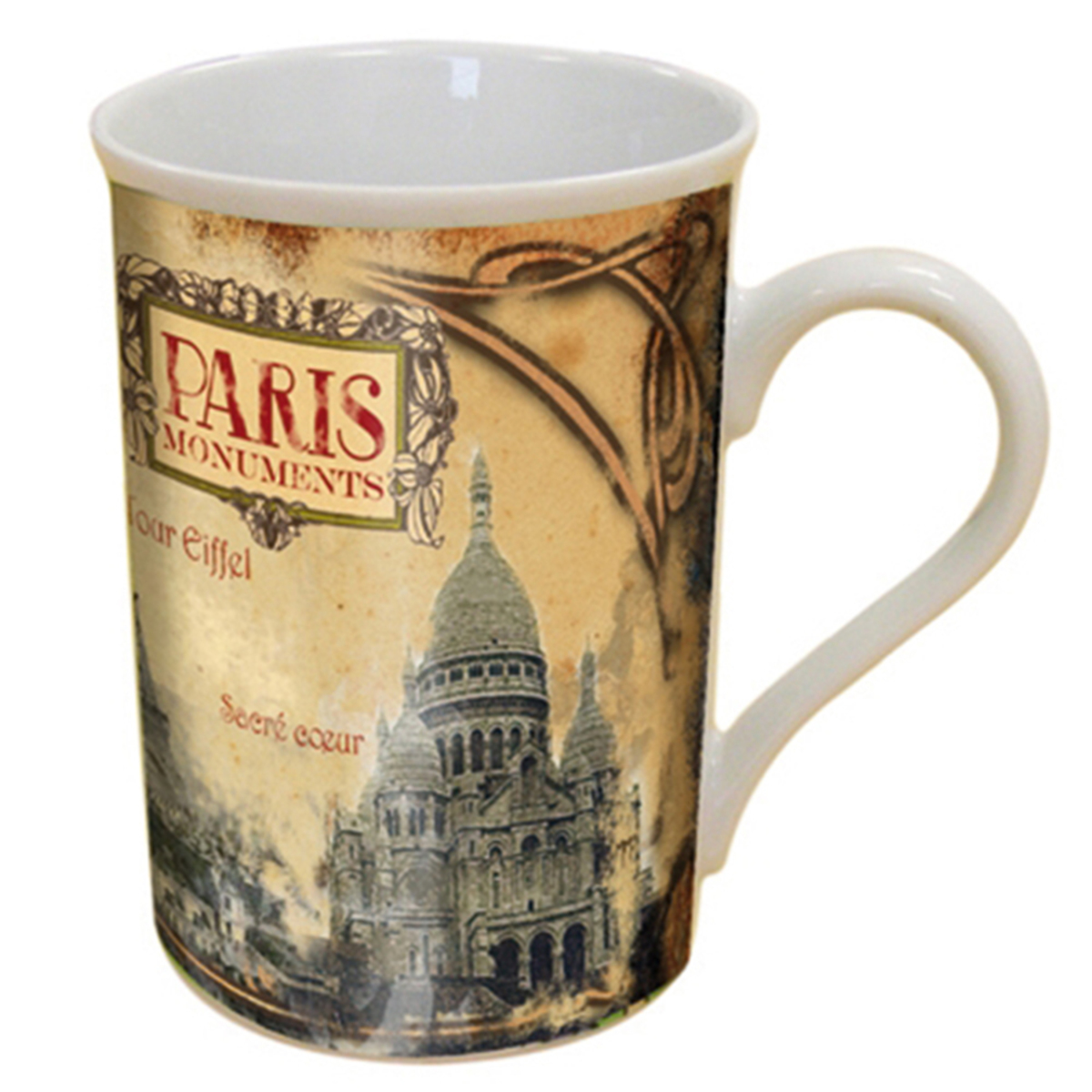 Mug décor Paris Monuments