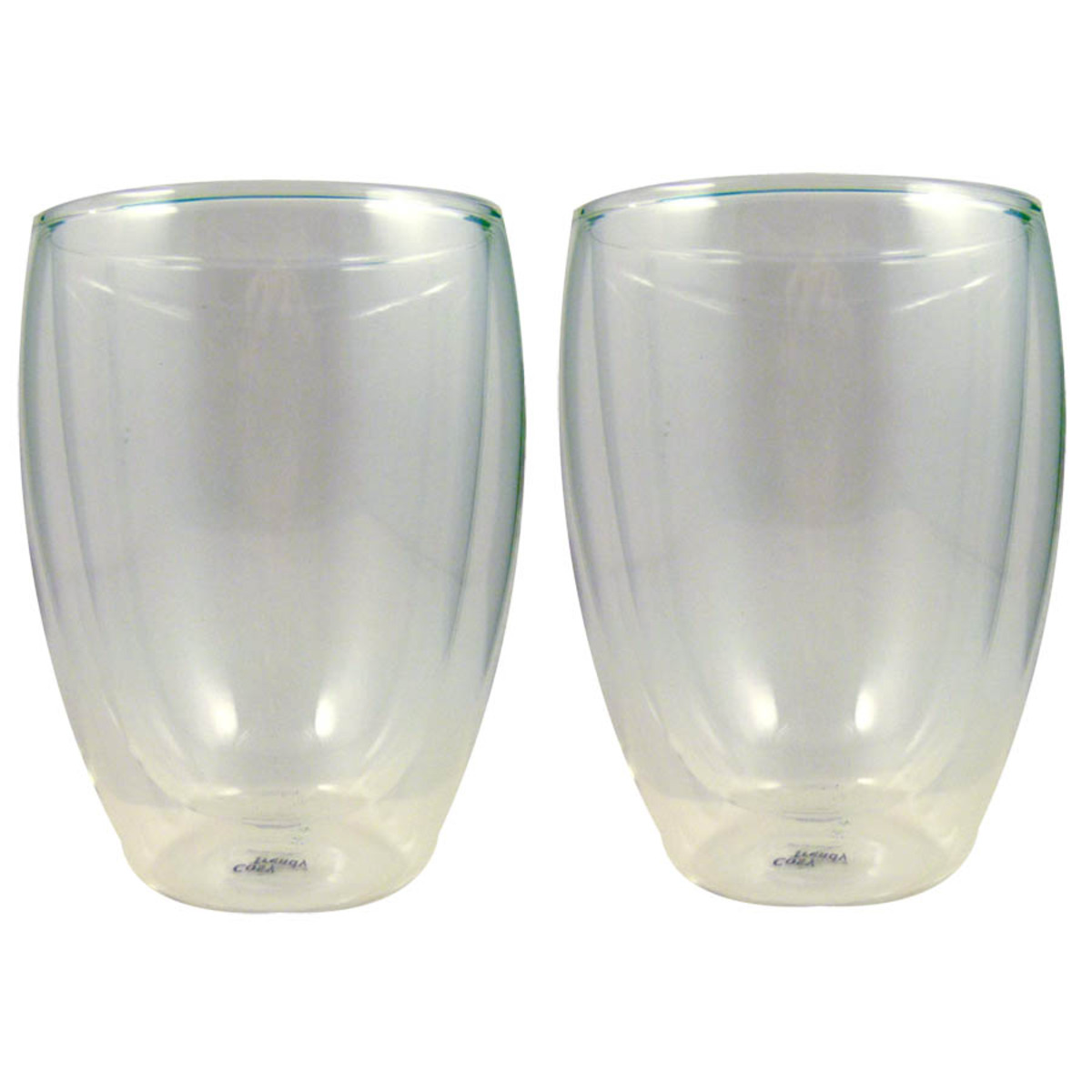 Set de 2 verres double parois  grand model